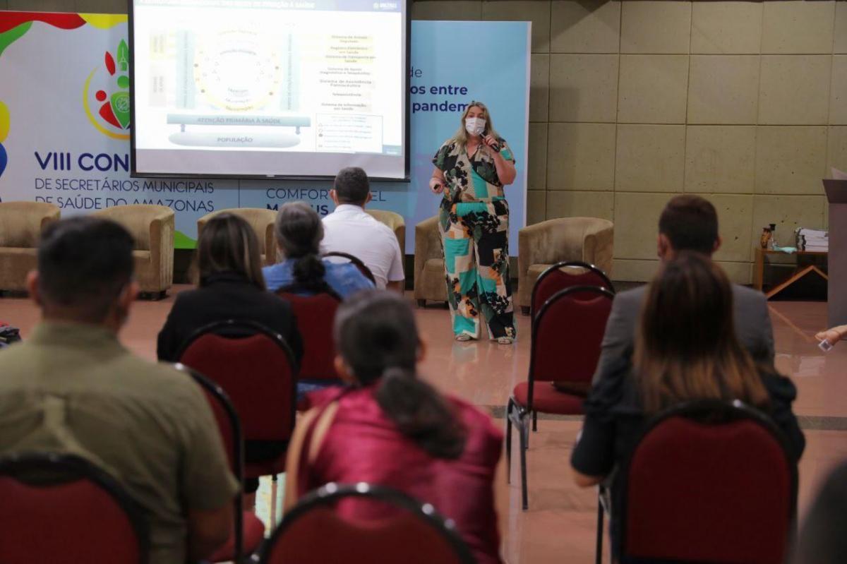 SES-AM apresenta ações de saúde em congresso de secretários municipais