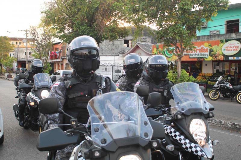Em Manaus, Rocam Motos prendeu mais de 200 infratores durante ações policiais em um ano