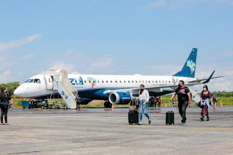 Azul Linhas Aéreas retoma operações em Parintins