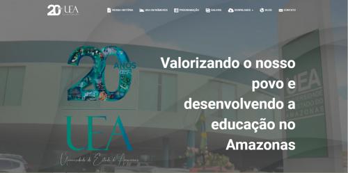 UEA lança site comemorativo com conteúdos exclusivos