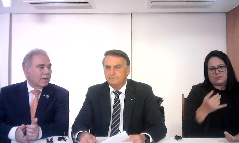 Bolsonaro faz apelo para população economizar energia elétrica