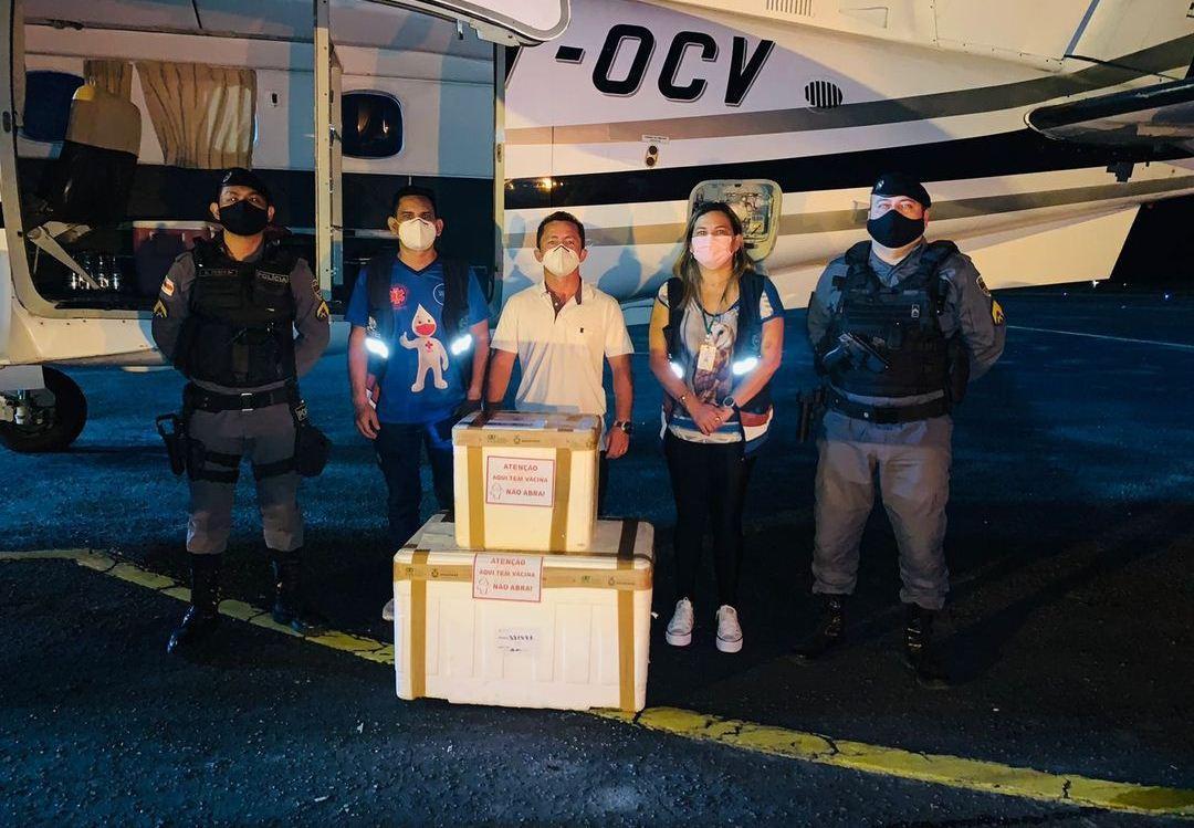 Parintins recebe mais 12.760 doses de vacina contra a Covid-19