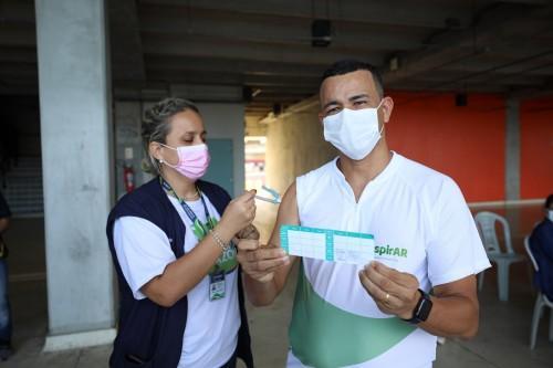 Amazonas já aplicou 3.381.234 doses de vacina contra Covid-19