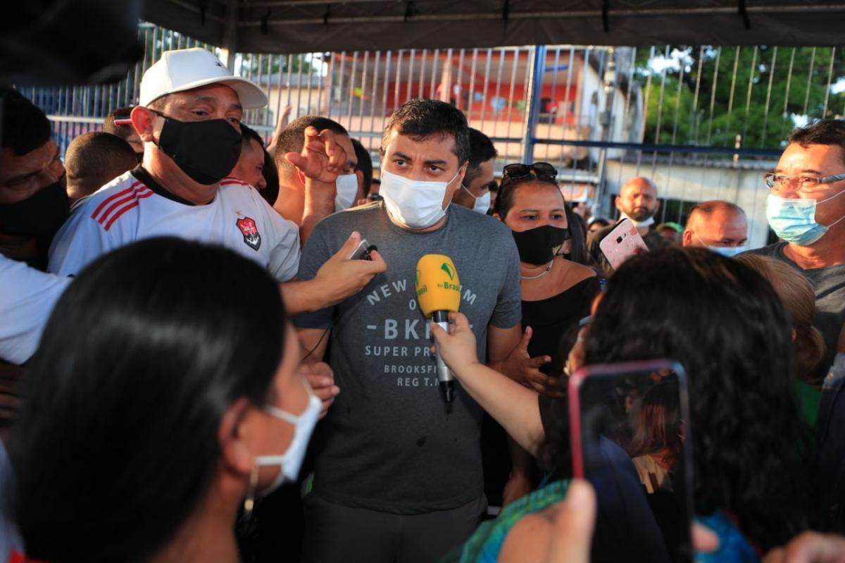 Governador Wilson Lima entrega Campo do Teixeirão revitalizado