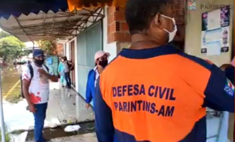 Após enchente, Parintins recebe recurso federal para auxiliar Defesa Civil