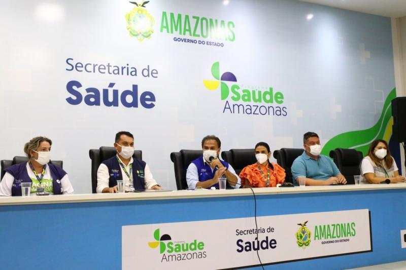 Amazonas mantém vacinação de adolescentes sem comorbidades contra a Covid-19