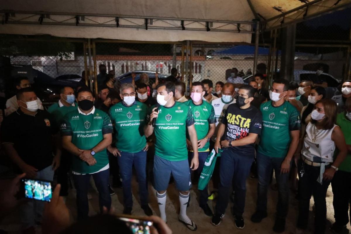 Wilson Lima anuncia revitalização do campo Baixada Fluminense