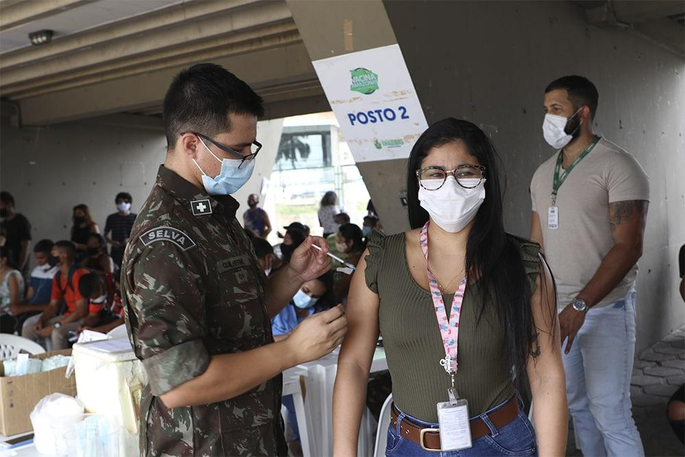 Amazonas já aplicou 4.116.281 doses de vacina contra Covid-19