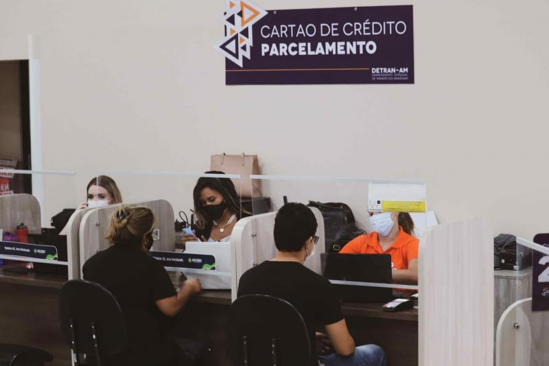 Dívidas com licenciamento podem ser quitadas em até 12 parcelas no Detran-AM