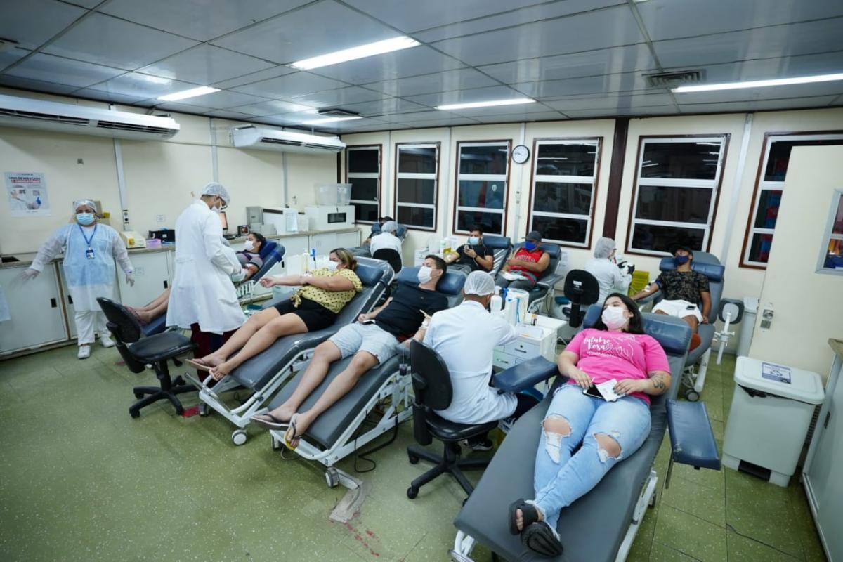 Campanha de doação de sangue no Hemoam bate meta em tempo recorde