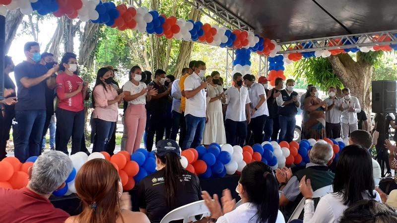 Governador Wilson Lima inaugura UTI e demais obras em Parintins