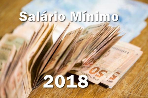 Salário mínimo para 2018 terá impacto de R$ 12,7 bilhões nas contas do Governo Federal