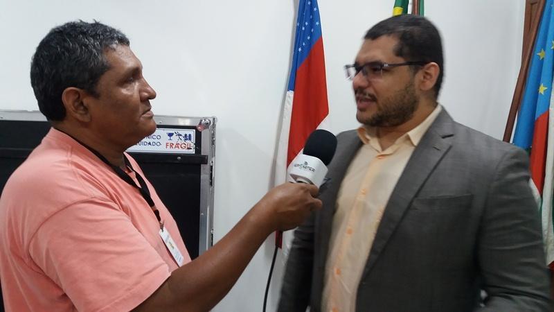 Entrevista com o juiz eleitoral Fábio Olintho sobre Biometria em Parintins