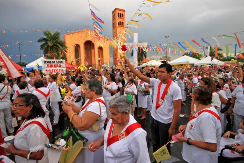 Festa de Nossa Senhora do Carmo vira Patrimônio Cultural de Natureza Imaterial no AM