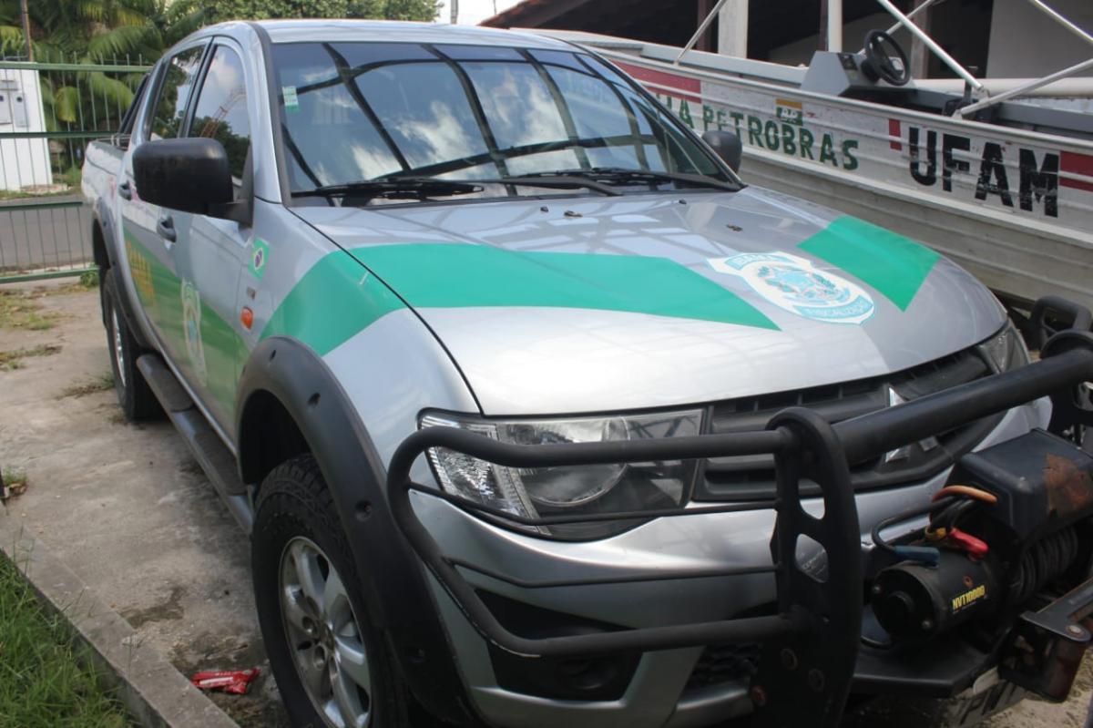 Ibama Parintins ganha veículo para atuar na Gleba de Vila Amazônia