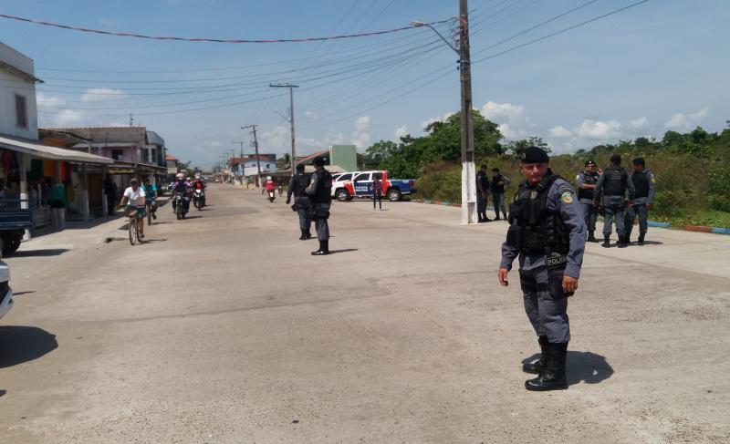 Operação Fecha Quartel da Polícia Militar em Parintins