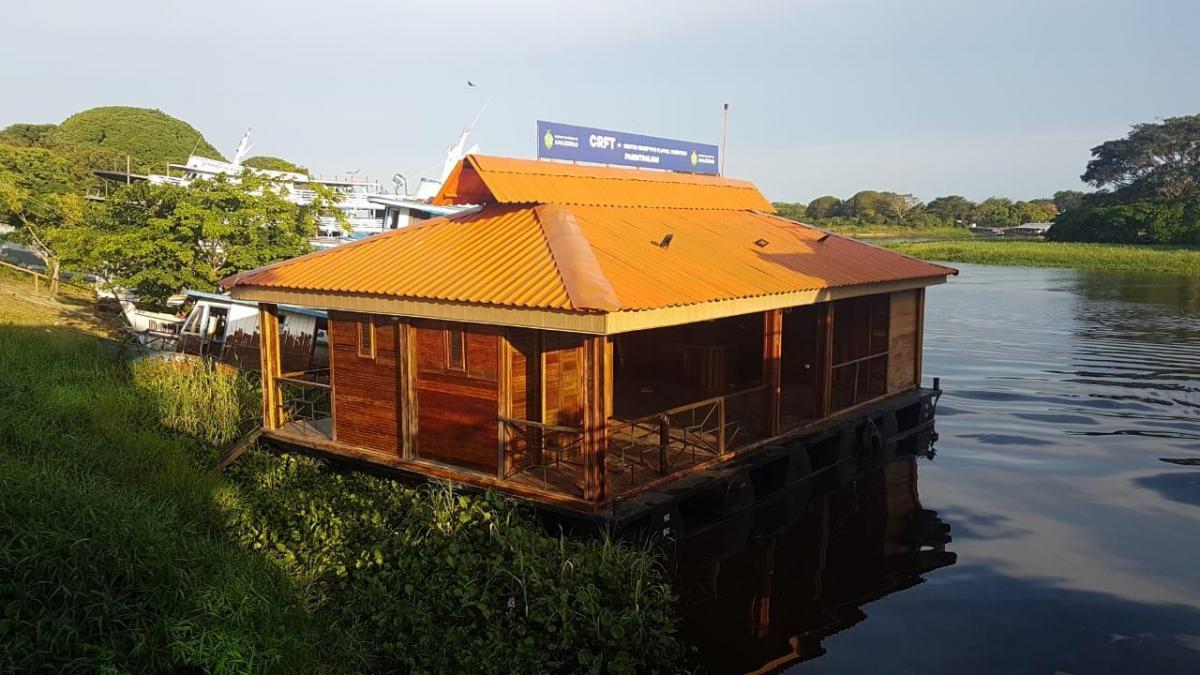 Instalado Centro Receptivo Turístico na Serra da Valéria em Parintins