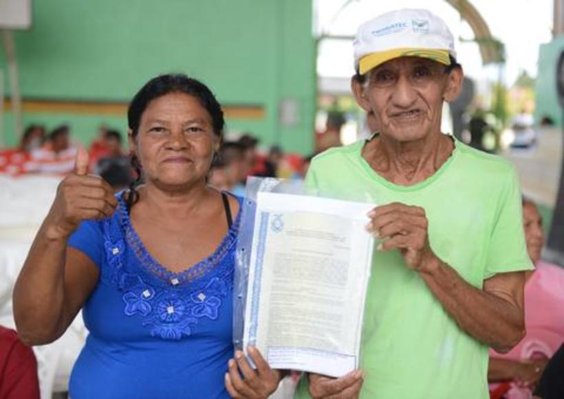 Mais de 300 títulos de terras foram entregues em Codajás
