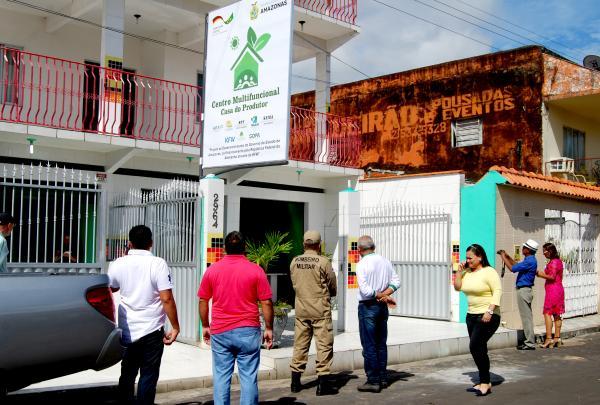 Centro Multifuncional de regularização e licenciamento ambiental inaugurado em Parintins