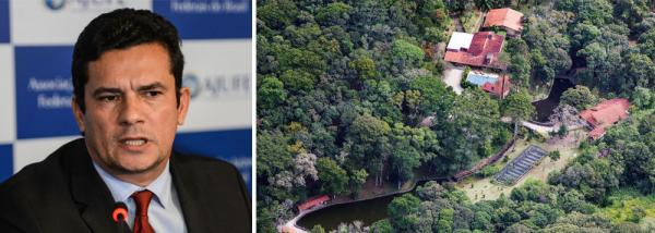 Divulgação de inquérito sobre sítio foi 'equívoco', diz Moro