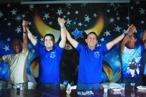 Jender Lobato é apresentado como vice-presidente de Babá Tupinambá para eleição no Boi Caprichoso
