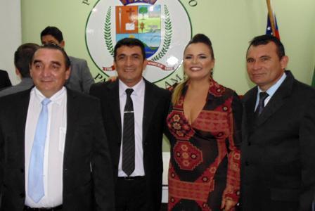 Maildson Fonseca e membros da Mesa Diretora eleitos para comandar Câmara Municipal de Parintins