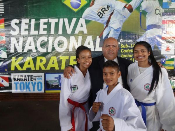 Pela primeira vez Amazonas conquista vaga na seleção brasileira de karatê